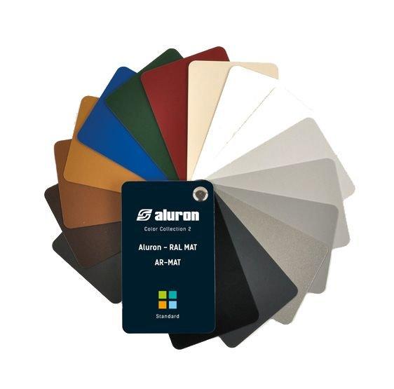 Farbenpalette ALURON AR-MAT