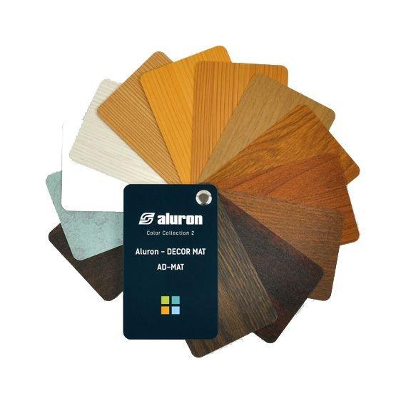 Farbenpalette ALURON AD-MAT